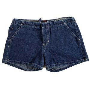 Tommy Girl Jeans Shorts Cotton No Waistband Denim